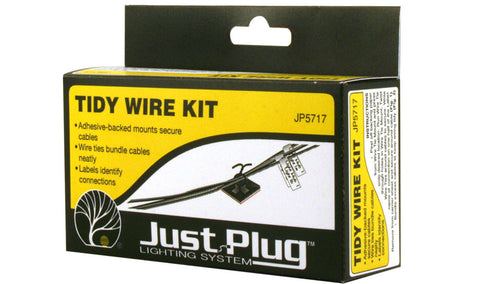 Woodland Scenics JP5717 - Just Plug - Tidy Wire Kit