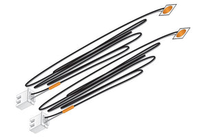 Woodland Scenics JP5736 - Just Plug - LED Stick-On Lights (Orange) 30 mA each