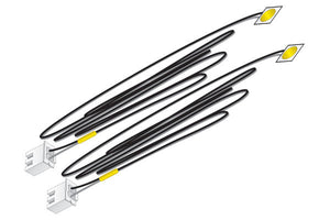 Woodland Scenics JP5742 - Just Plug - LED Stick-On Lights (Yellow) 30 mA each