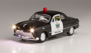 Woodland Scenics JP5973 - Just Plug - Police Car