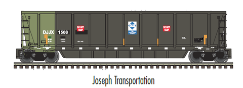 "Atlas O 3006611 - MASTER - Coalveyor Bathtub Gondola ""Joseph Transportation"" - 2 Rail"
