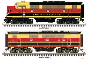"Atlas O 30136003 - Master - TMCC - EMD F3A Phase 1 ""Kansas City Southern"" #52D (Powered)"
