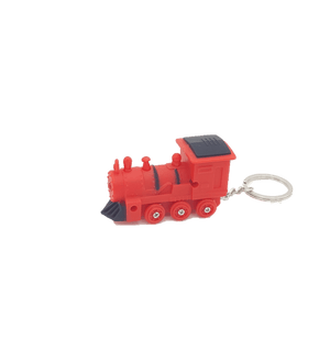 Keychain - Steam Engine (Red)