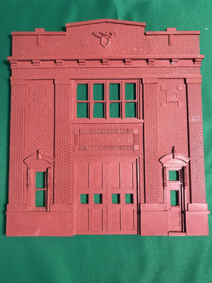Korber Models #D0073 - O Scale - Front Wall Fire Station