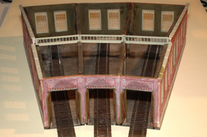 Korber Models #104 - HO Scale - 3 Stall Roundhouse Kit