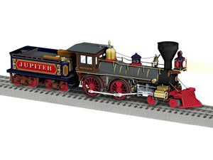 "Lionel 1931650 - Jupiter 4-4-0 Steam Locomotive ""Central Pacific"" - Painted"