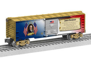 "Lionel 1938190 - Presidents of the US Boxcar ""James Buchanan"""