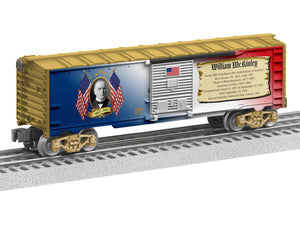 "Lionel 1938200 - Presidents of the US Boxcar ""William McKinley"""
