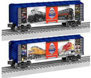 "Lionel 1938350 - Boxcar ""2019 National Train Day"""