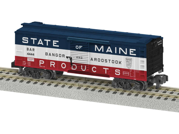 "Lionel 2019010 - A/F Freightsounds Boxcar ""Bangor & Aroostook"""