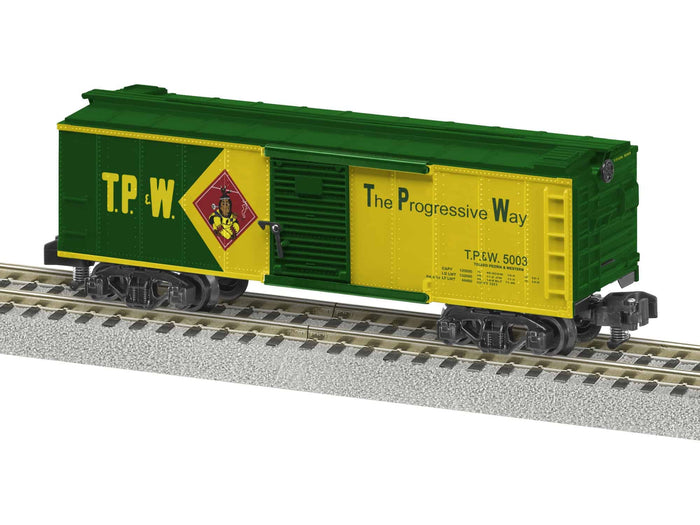 "Lionel 2019020 - A/F Freightsounds Boxcar ""Toledo, Peoria & Western"""