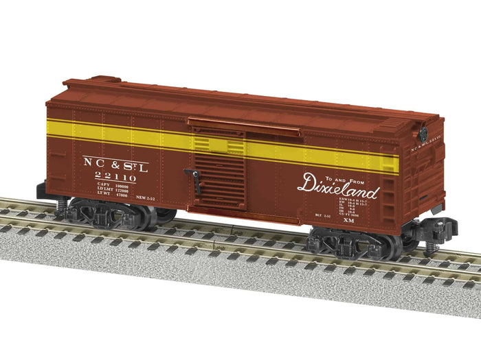 "Lionel 2019030 - A/F Freightsounds Boxcar ""Nashville, Chattanooga & St Louis"""