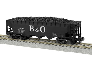 "Lionel 2019112 - A/F 3-Bay Hopper ""Baltimore & Ohio"" #621156"