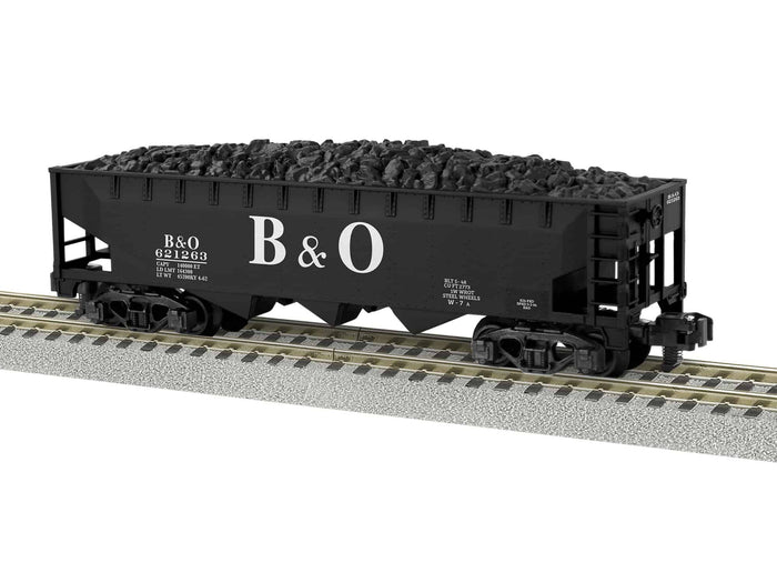 "Lionel 2019114 - A/F 3-Bay Hopper ""Baltimore & Ohio"" #621263"
