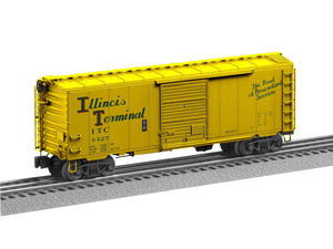 "Lionel 2026160 - Flat Spot FreightSounds ""Illinois Terminal"" PS-1 Boxcar #8427"