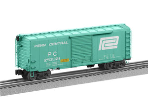 "Lionel 2026180 - Flat Spot FreightSounds ""Penn Central"" PS-1 Boxcar #253321"