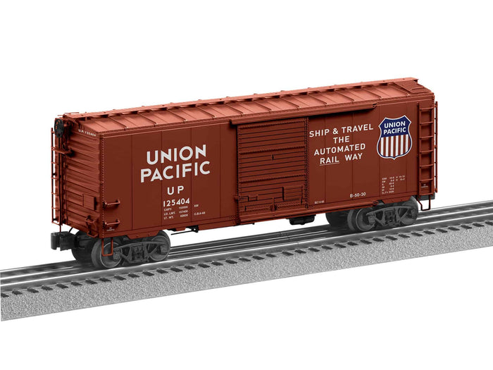 "Lionel 2026190 - Flat Spot FreightSounds ""Union Pacific"" PS-1 Boxcar #125404"