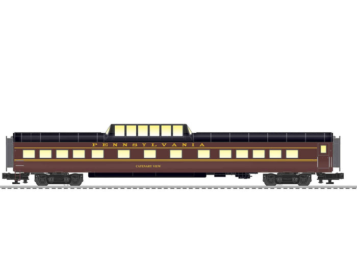 "Lionel 2027290 - VistaVision Dome Car ""Pennsylvania"" #Catenary View"