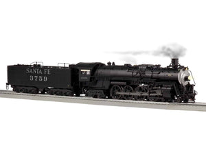 "Lionel 2031180 - Legacy 4-8-4 Steam Locomotive ""Santa Fe"" #3757 w/ Bluetooth"