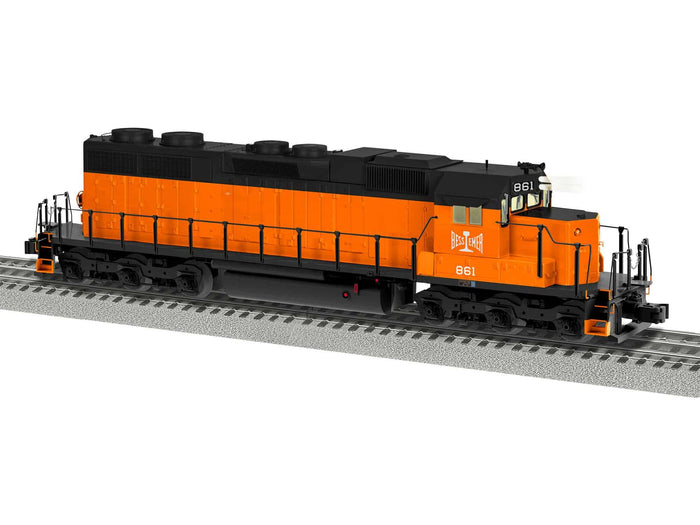 "Lionel 2033011 - Legacy SD38 Diesel Locomotive ""Bessemer & Lake Erie"" #861"