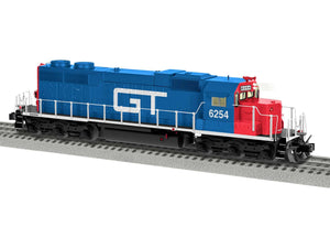 "Lionel 2033042 - Legacy SD38 Diesel Locomotive ""Grand Trunk Western"" #6254"