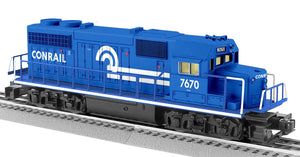 "Lionel 2034180 - LionChief GP38 Diesel Locomotive ""Conrail"" #7670"