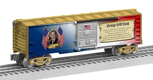 "Lionel 2038050 - Presidents of the US Boxcar ""George H. W. Bush"""