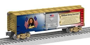 "Lionel 2038060 - Presidents of the US Boxcar ""William Henry Harrison"""