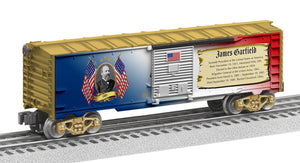 "Lionel 2038070 - Presidents of the US Boxcar ""James Garfield"""