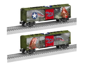 "Lionel 2038200 - U.S. Army Boxcar ""Wings of Angels - Jessamyne Rose"""