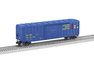 "Lionel 2043024 - 50' Boxcar ""Golden West"" #767193"