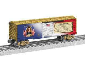 "Lionel 6-25932 - Presidents of the US Boxcar ""Calvin Coolidge"""