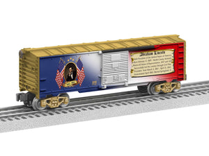 "Lionel 6-39338 - Presidents of the US Boxcar ""Abraham Lincoln"""
