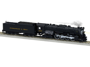 "Lionel 6-44125 - A/F Legacy Berkshires Steam Locomotive ""Chesapeake & Ohio"" #2697"