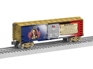 "Lionel 6-81487 - Presidents of the US Boxcar ""Ronald Reagan"""