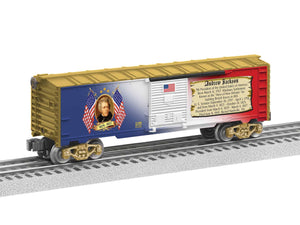 "Lionel 6-81488 - Presidents of the US Boxcar ""Andrew Jackson"""