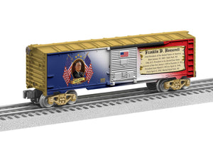 "Lionel 6-82335 - Presidents of the US Boxcar ""Franklin D. Roosevelt"""