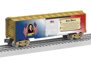"Lionel 6-82942 - Presidents of the US Boxcar ""James Monroe"""