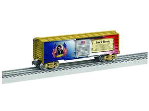 "Lionel 6-82943 - Presidents of the US Boxcar ""John F. Kennedy"""