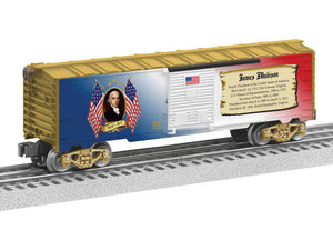 "Lionel 6-82945 - Presidents of the US Boxcar ""James Madison"""