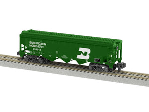 Lionel L-1919172 A/F Burlington Northern 3 Bay Covered Hopper #453048