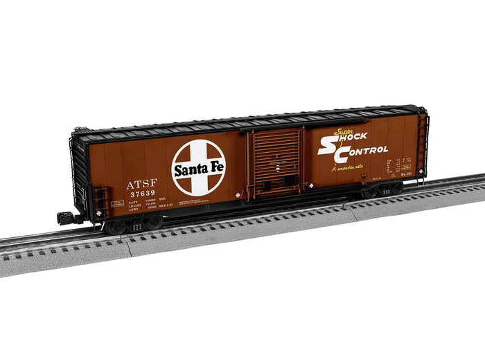 "Lionel 2026391 - 60' Single Door Boxcar ""Santa Fe"" #37639"