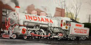 "Lionel 21312M445 - Legacy USRA Pacific Steam Locomotive ""Monon"" #445 - Decorated for Indiana - Custom Run for MrMuffin'sTrains"