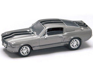 Lucky Die Cast 43202 - 1967 Shelby GT500 (Silver) 1/43 Diecast Car