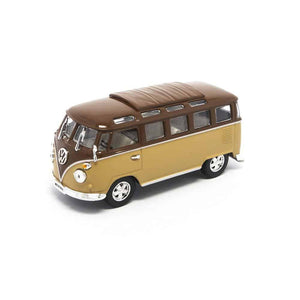 Lucky Die Cast 43209 - 1962 Volkswagen Microbus (Brown) 1/43 Diecast Car