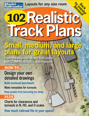 Model Railroader - Magazine - 102 Realistic Track Plans - Extra 2019