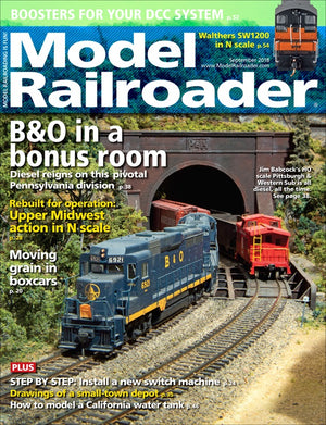 Model Railroader - Magazine - Vol. 85 - Issue 09 - Sept. 2018
