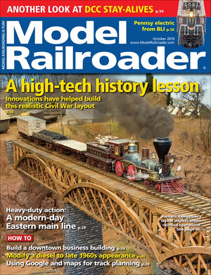 Model Railroader - Magazine - Vol. 86 - Issue 10 - Oct. 2019