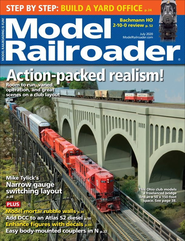 Model Railroader - Magazine - Vol. 87 - Issue 07 - July 2020