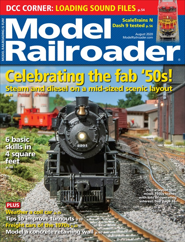 Model Railroader - Magazine - Vol. 87 - Issue 08 - Aug. 2020